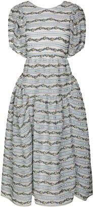Cecilie Bahnsen x Browns 50 Katrine lily-stripe midi dress