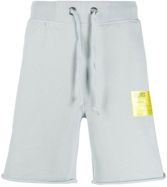 Helmut Lang Contrast Patch Track Shorts
