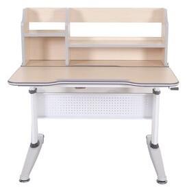STUDY Hendricks Adjustable Kids Desk with Book Shelf Zoomie Kids