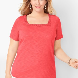 Talbots Square-Neck Tee
