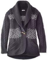 chunky black cardigan - ShopStyle