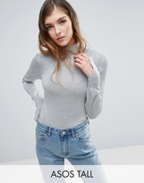 ASOS Tall ASOS TALL Sweater with Turtleneck in Soft Yarn