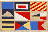 "Liora Manné Front Porch Indoor/Outdoor Signal Flags Natural 2'6"" x 4' Area Rug"