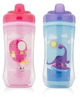 Dr Browns Dr. Brown's Hard-Spout Insulated Cup 2 Count - 10 Ounce - Assorted Colors by Dr. Brown's
