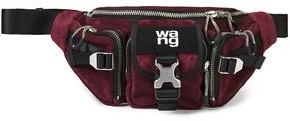 Alexander Wang Leather And Suede Belt Bag