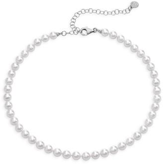 Majorica 6MM White Organic Man-Made White Necklace