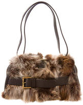 Michael Kors Fox Fur Littleton Mini Bag