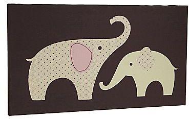 Carter's Elephant Stitch Wall Art