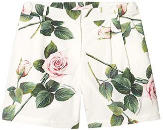 Dolce & Gabbana Kids Shorts L52Q24HS5GG (Big Kids) (Rose Rosa Fdo Panna) Girl's Shorts