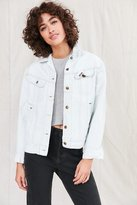 Urban Outfitters Urban Renewal Remade Bleach-Out Denim Trucker Jacket