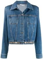 Stella McCartney logo hem denim jacket