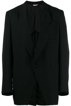 Comme des Garcons single-breasted blazer