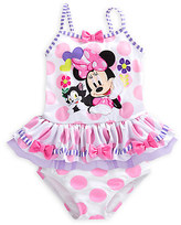 Disney Minnie Mouse Deluxe Swimsuit for Girls - 2-Piece
