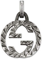 Gucci Interlocking G charm in silver