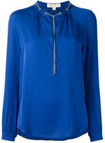 MICHAEL Michael Kors v neck blouse