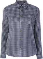 A.P.C. tartan-style checked shirt