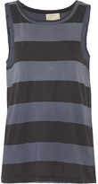Current/Elliott The Muscle striped cotton tank