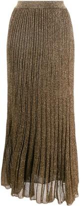 Missoni Pleated Knit Skirt