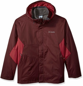 Columbia Men's Big and Tall Eager Air Big & Tall Interchange Jacket
