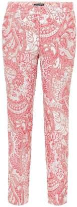 Dolce & Gabbana Metallic jacquard pants