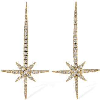 FEDERICA TOSI Comet Crystal Earrings