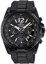 Casio Edifice Mens Black Dial Black Resin Strap Solar Watch EFR545SBPB-1B
