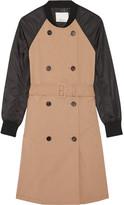 3.1 Phillip Lim Cotton-gabardine and shell trench coat
