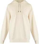 Acne Studios Yala hooded face-patch cotton sweatshirt
