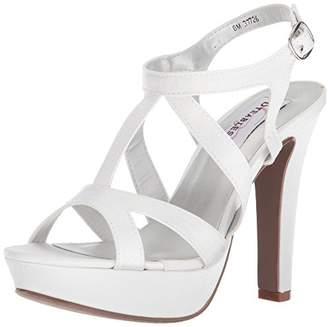 Dyeables Women's Queenie Heeled Sandal M US