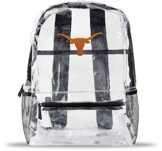 clear Texas Longhorns Team Logo School Bag