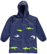 "Lilly New York Big Boys' ""Shark Shower"" Rain Jacket"