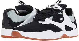 DC Kalis (Black/Grey/White) Men's Skate Shoes