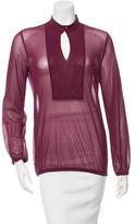 Jean Paul Gaultier Sheer Long Sleeve Top w/ Tags