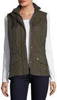 Barbour Cavalry Polar Diamond-Quilted Fleece-Lined Gilet Vest