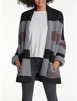 360 Sweater Paula Stripe Cashmere Cardigan, Multi