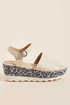Anthropologie Caia Platform Sandals