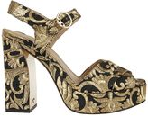 Tory Burch Embroidered Sandals