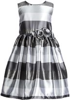Jayne Copeland Little Girls 2T-6X Metallic Striped Dress