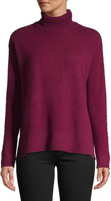 Lord & Taylor Cashmere Turtleneck Sweater