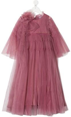 Raspberry Plum Kizzy tulle dress