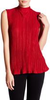 Romeo & Juliet Couture Sleeveless Turtleneck Shirt