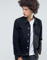 Weekday Core Denim Jacket Glory Black