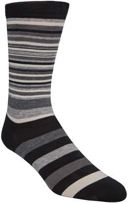Cole Haan Men Town Stripe Crew Socks