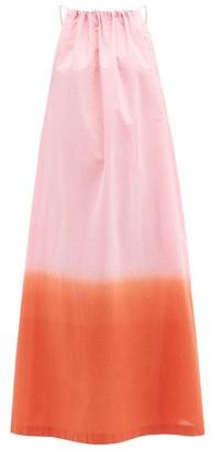 Arizona Love Athene Tie-dye Cotton-poplin Dress - Pink Print