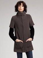 Knit Combo Coat