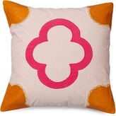 The Piper Collection Emily 22x22 Linen Pillow, Stone