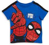 Nannette Boys 2-7 Bring It On Spiderman-Print Tee