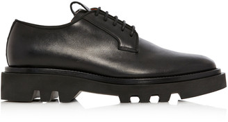 Givenchy Leather Combat Derby Shoes