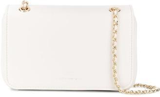 Elisabetta Franchi Logo Charm Detailed Shoulder Bag