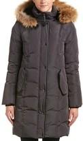 Mackage Shailene Leather-trim Down Coat.
